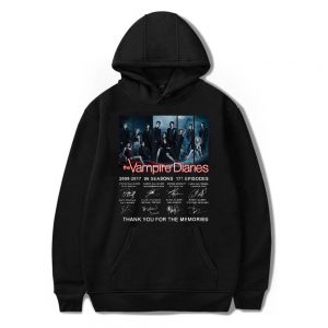 Collector's Edition - Sweatshirt with actors' signatures VPD0109 WY02 / XS Official Vampire Diaries Merch