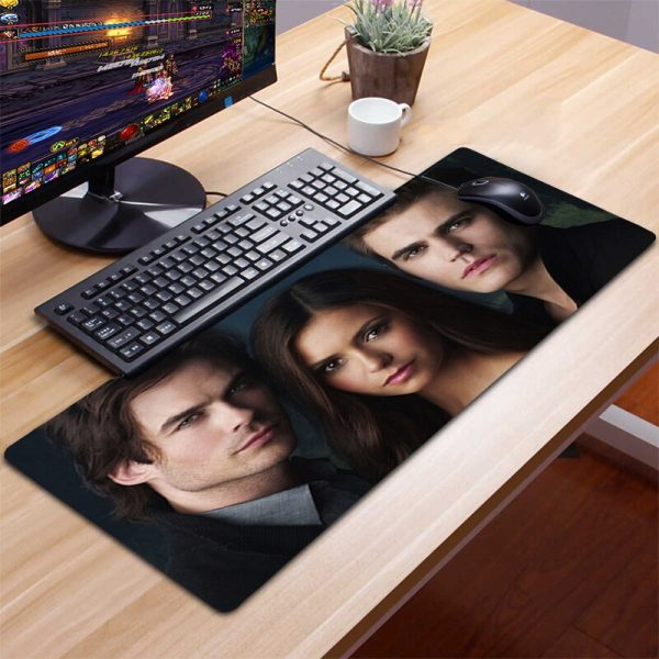 XXL Mousepad Gamer Gaming Mouse Pad Computer Accessories Keyboard Laptop Padmouse Desk Mat Mouse Pad Gamer - Vampire Diaries Merch