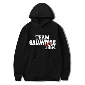 Team Salvatore - Hoodies VPD0109 Black / S Official Vampire Diaries Merch