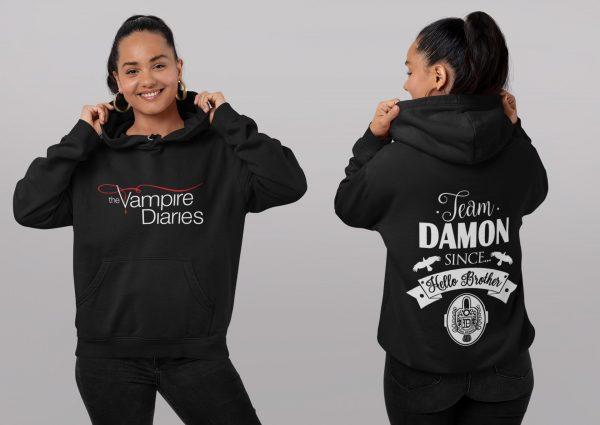 Black / L Official Vampire Diaries Merch