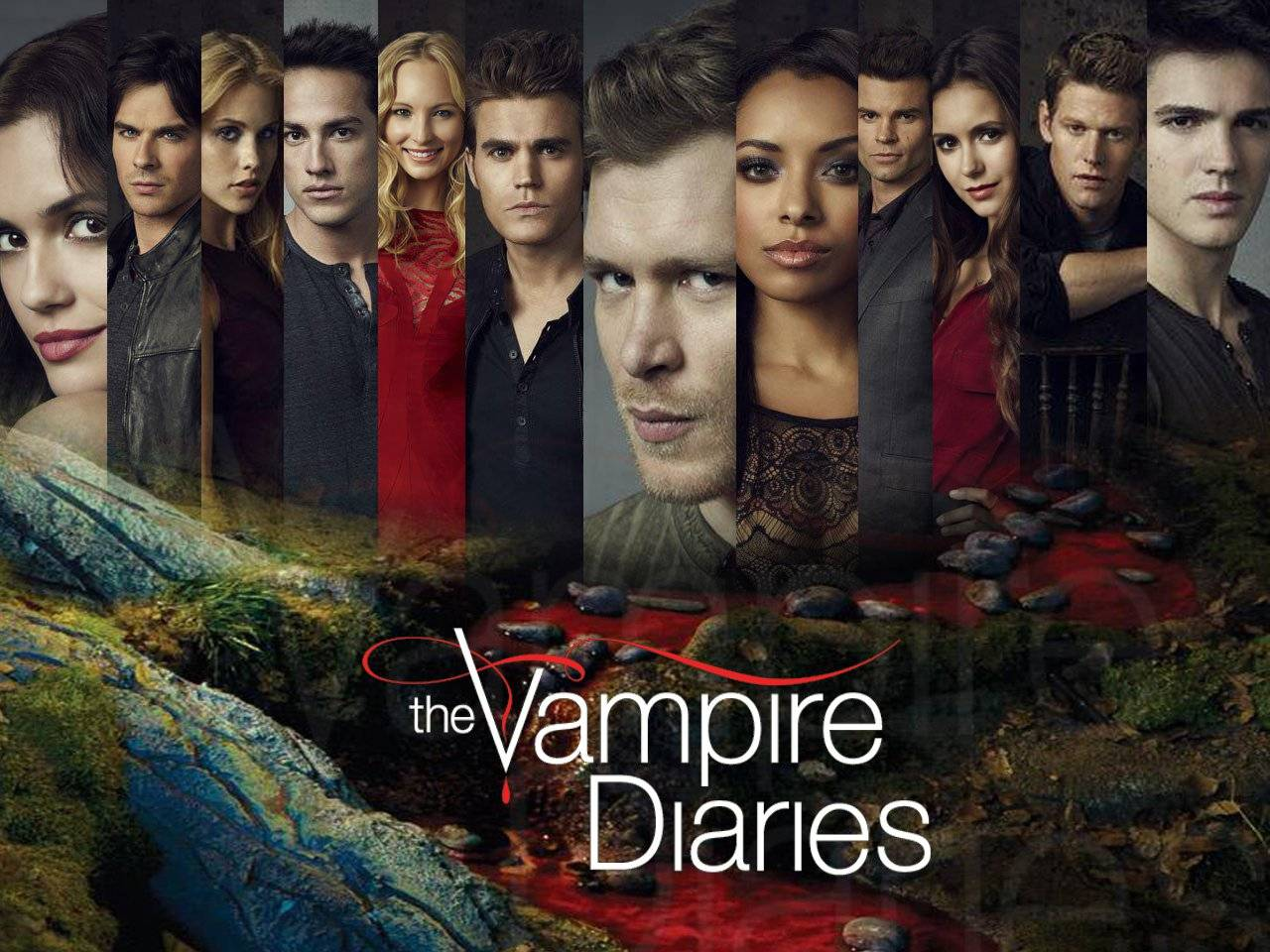 nhat ky ma ca rong phan 1 2009 big - Vampire Diaries Merch