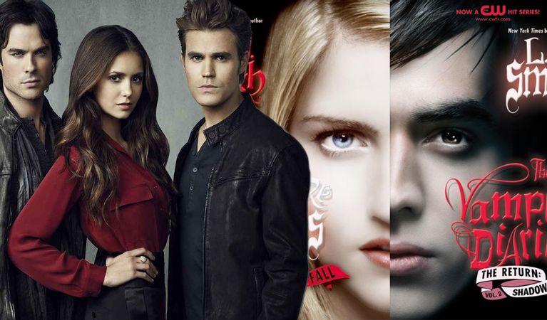 tvd books and show - Vampire Diaries Merch